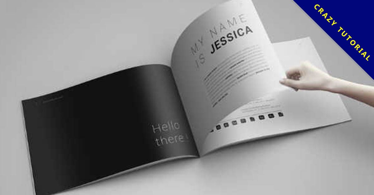 作品集排版設計欣賞,23張精美的作品集排版作品圖案推薦