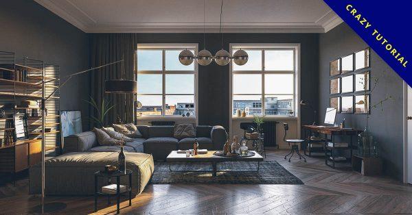 【客廳設計】42款客廳設計裝潢作品欣賞,歐風擺設風格