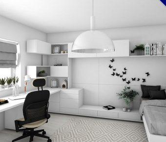 【房間設計】精選40款房間臥室設計作品推薦,自己裝潢佈置吧
