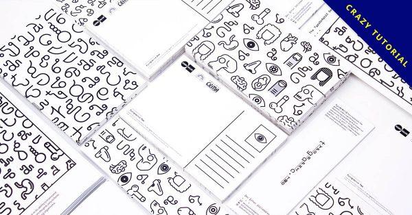 【排版設計】24款英文字排版設計範例,國外設計推薦