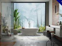 【浴室設計】精選48款浴室設計實例照片分享,衛浴乾溼分離設計推薦