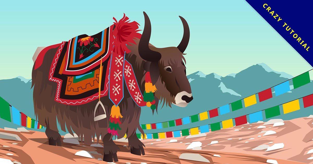 【牛的圖案】7個精細的牛的圖案下載,精美範本檔推薦