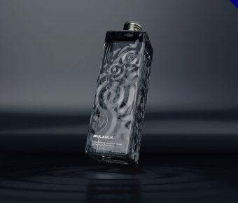 19款精品的瓶裝水包裝設計欣賞,高品質的作品圖形推薦