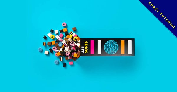 糖果包裝設計欣賞,19個有美感的糖果包裝作品樣本推薦