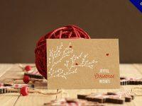 聖誕卡片設計欣賞,34款精緻的聖誕卡片作品範本推薦