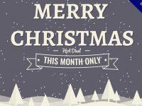 【聖誕節圖片】21張有設計感的聖誕節圖片下載,精美素材推薦