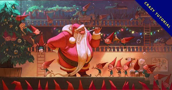 聖誕節插圖欣賞,19個有美感的聖誕節插圖樣品推薦