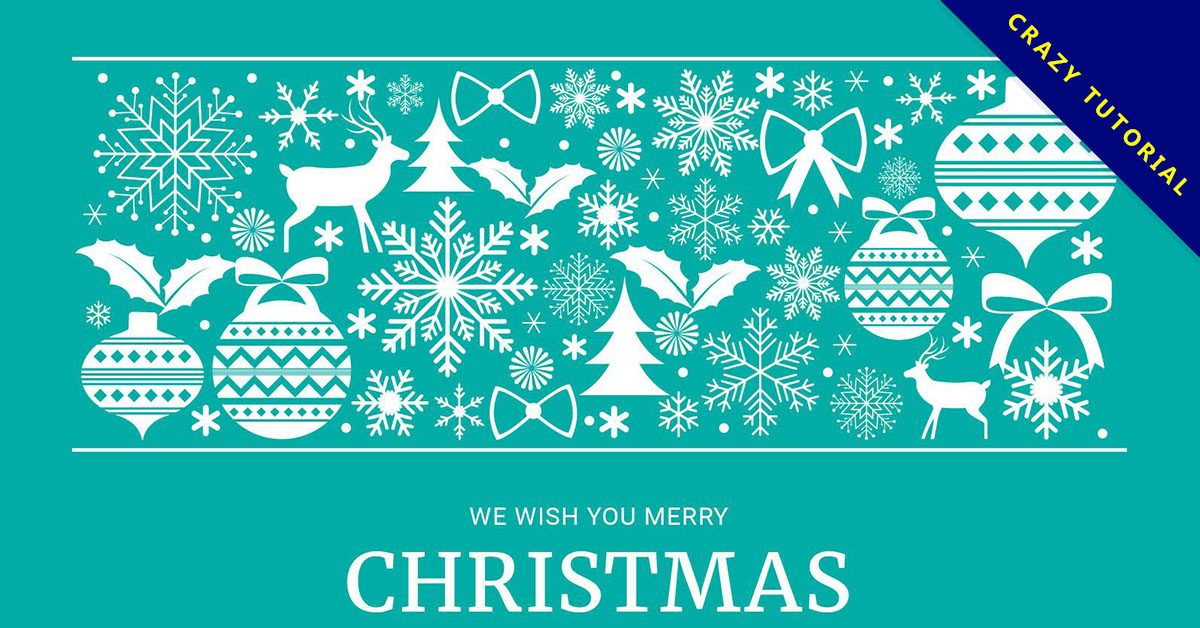 【聖誕節素材】32套優秀的聖誕節素材下載,精品模板推薦