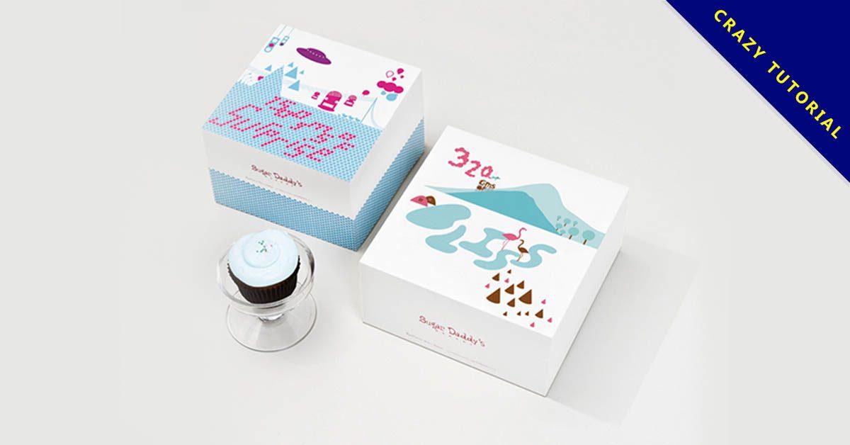 23款優質的蛋糕包裝盒設計欣賞,精細的作品圖形推薦