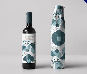 酒瓶包裝設計欣賞,29款高質量的作品圖案和設計圖示推薦