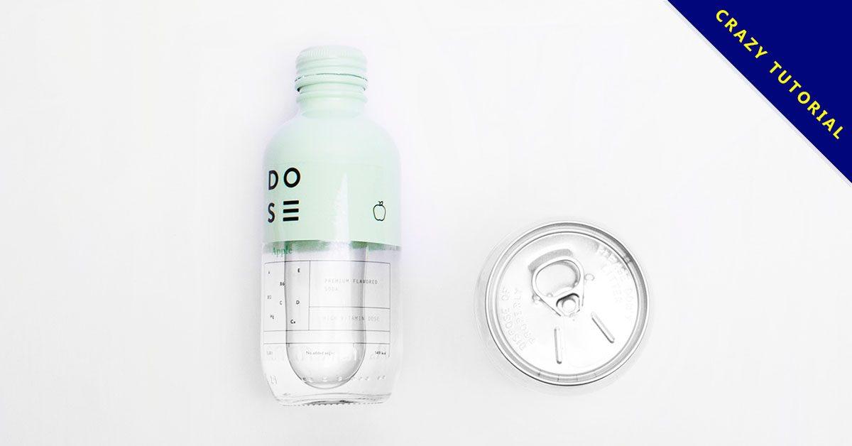 24套有設計感的飲料包裝設計欣賞,高質感的作品圖像推薦