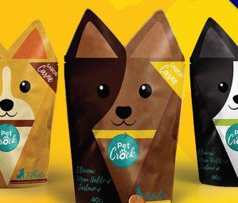 18款精緻的餅乾包裝袋設計欣賞,完美的作品套版推薦