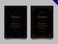 邀請卡設計欣賞,21張有設計感的邀請卡作品圖樣推薦