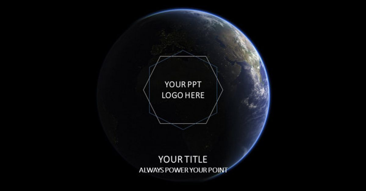 地球PPT模板下載,22頁精美的星球背景簡報推薦下載