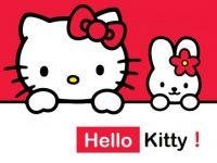 kitty貓PPT模板下載,7頁高品質的卡通PPT模板免費下載