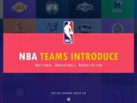 NBA球星PPT模板下載,12頁精緻的體育運動PPT免費下載