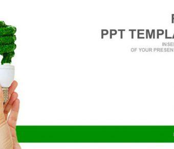 綠色節能PPT模板下載,2頁精細的環境保護PPT免費推薦