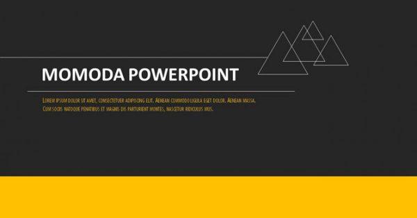 歐美分析PPT模板下載,19頁優秀的黑黃配色簡報最佳推薦