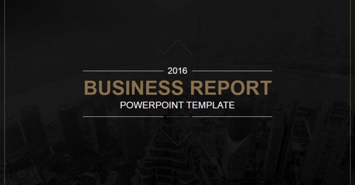 企業報告PPT模板下載,23頁精美的商業分析簡報免費套用