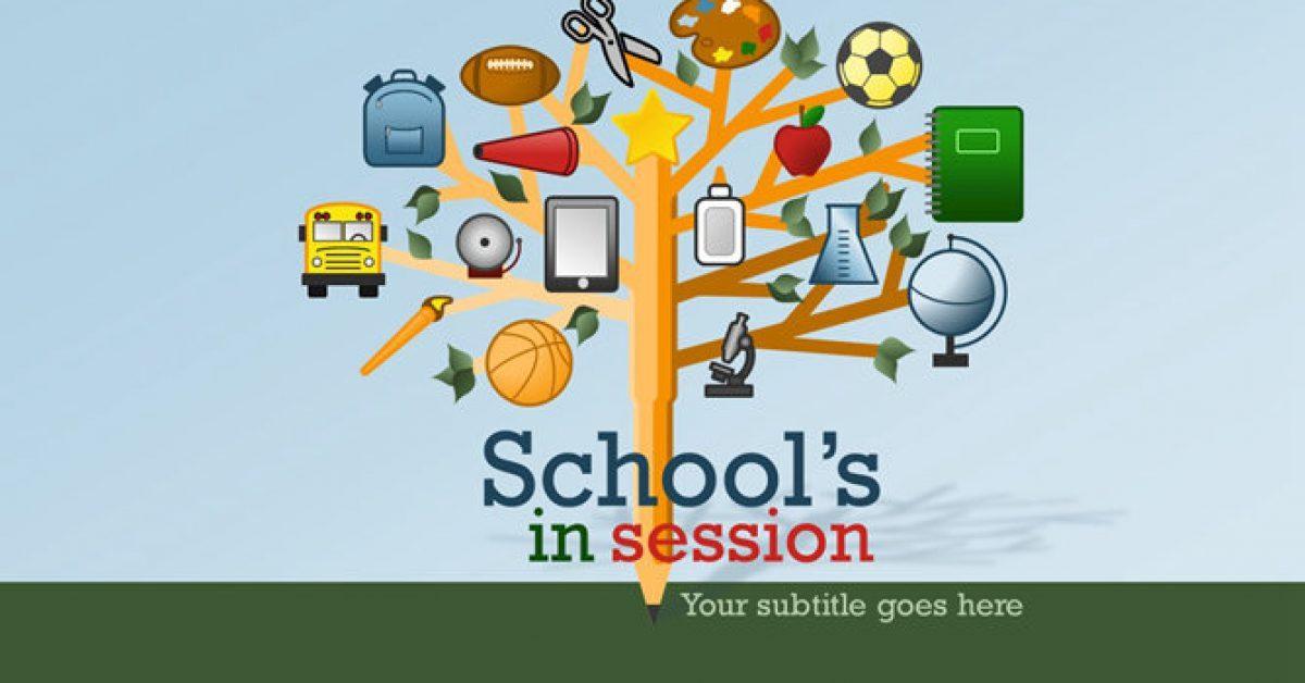 學校教育PPT模板下載,12頁優質的教育教學PPT免費推薦