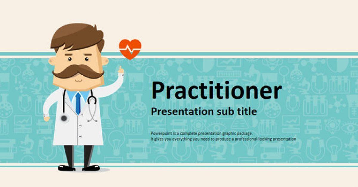 醫生報告PPT模板下載,21頁精緻的醫學醫療PPT免費下載