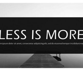 灰黑色PPT模板下載,21頁精美的時尚灰簡報推薦主題
