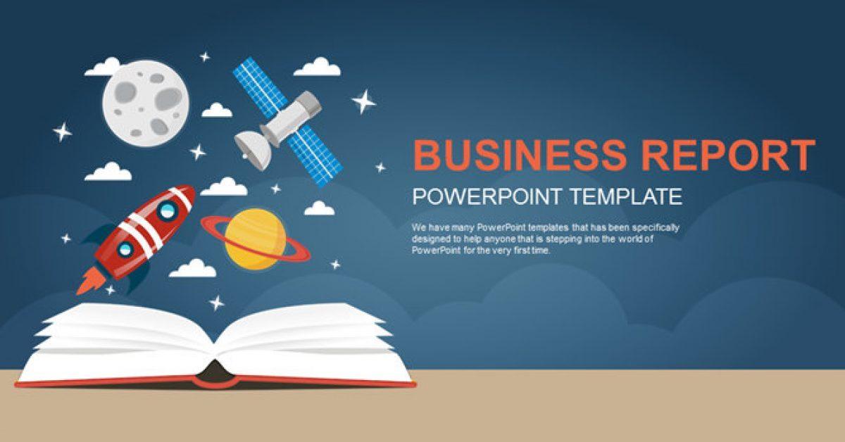 火箭主題PPT模板下載,23頁很棒的教育教學PPT模版推薦