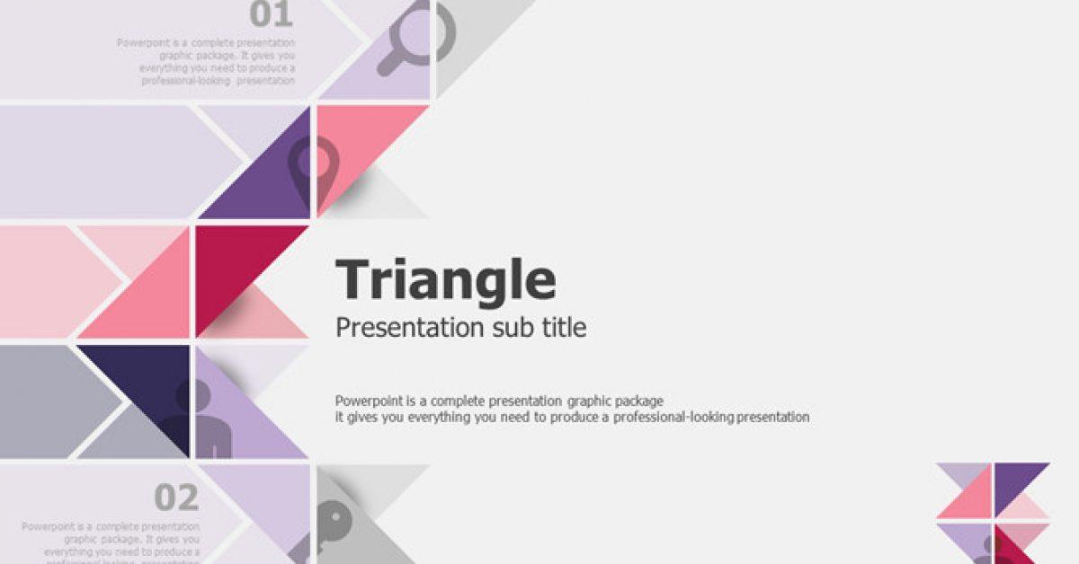 三角元素PPT模板下載,20頁優質的藝術抽象PPT推薦範例