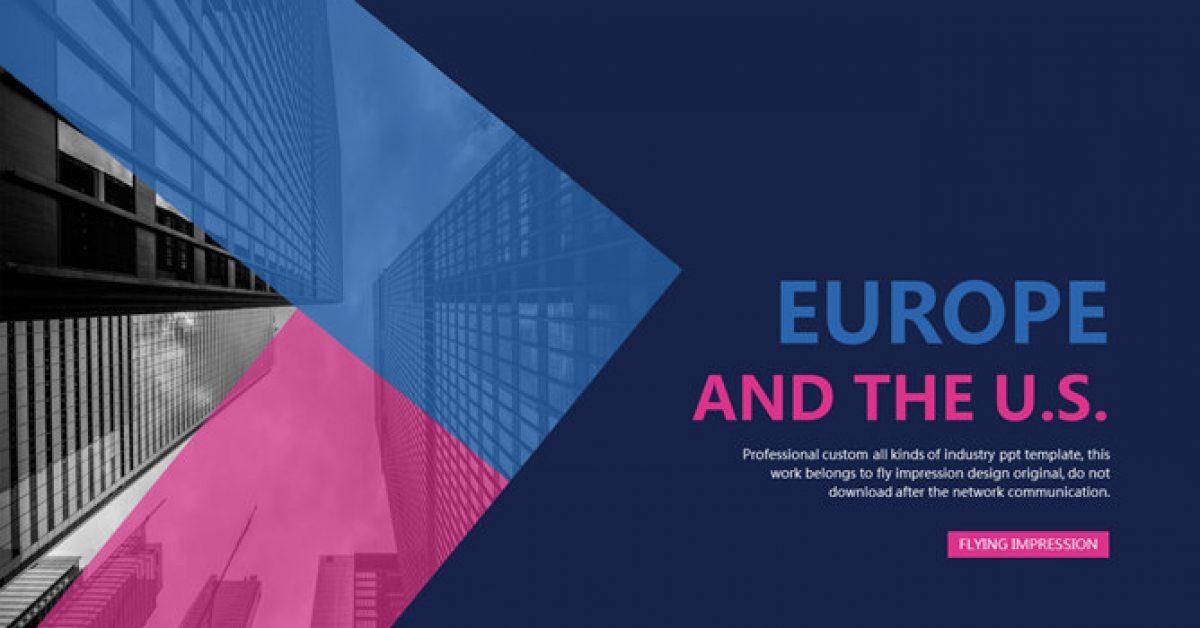 歐美藝術PPT模板下載,21頁很棒的精美PPT模板推薦下載