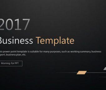 黑色典雅PPT模板下載,27頁高品質的簡約黑色範本推薦模板