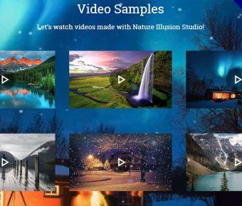 Nature Illusion Studio 照片轉動畫軟體,讓你的照片動起來