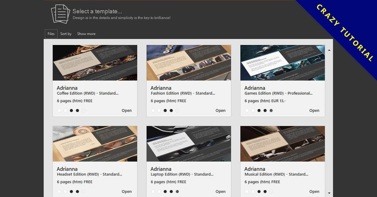 【網站製作工具】GrafX Website Studio 快速製作響應式網站下載,英文版,支援WINDOWS系統