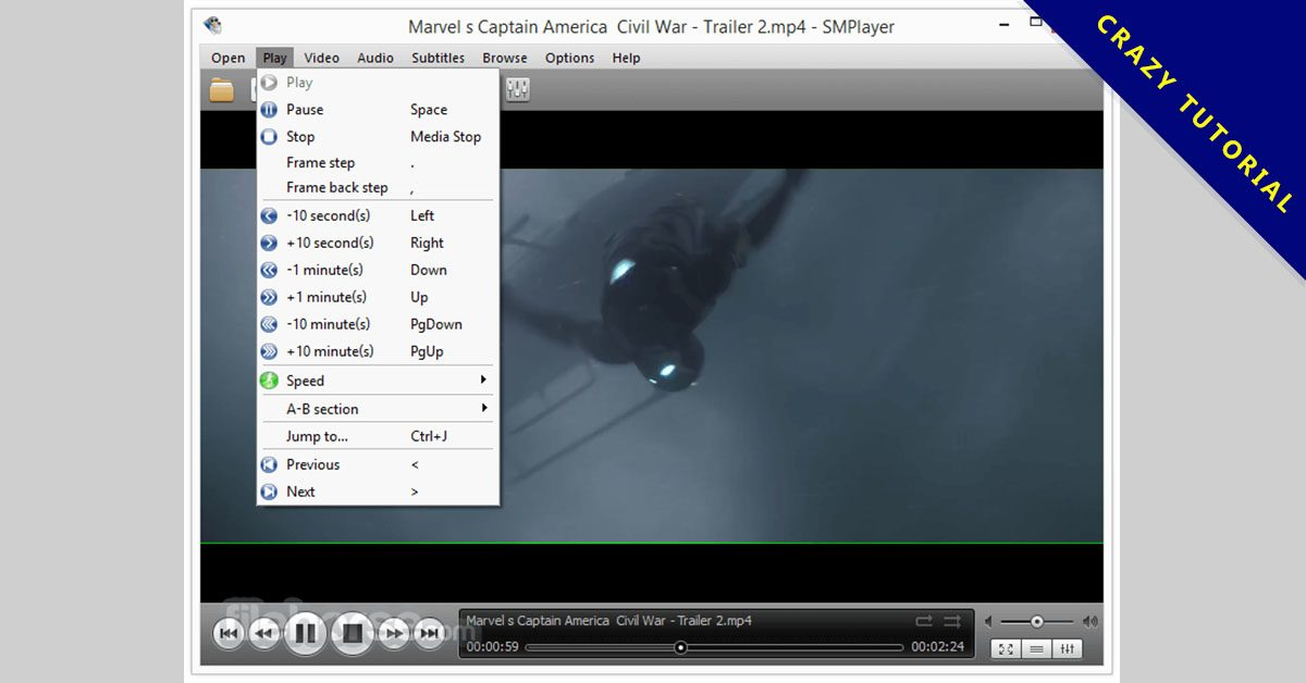 【4K媒體播放器】SMPlayer 4K影片播放器下載,多國語言版,支援WINDOWS系統