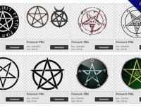 【五芒星PNG】精選51款五芒星PNG點陣圖素材下載,免費的五芒星去背圖案
