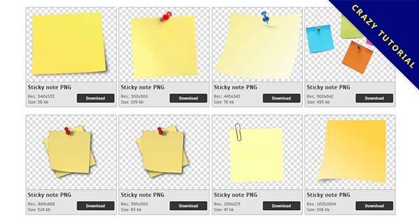 【便利貼PNG】精選85款便利貼PNG圖片下載,免費的便利貼去背圖案