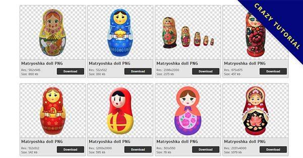 【俄羅斯娃娃PNG】精選90款俄羅斯娃娃PNG圖片下載,免費的俄羅斯娃娃去背圖片