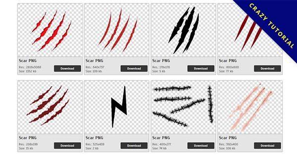 【傷疤PNG】精選32款傷疤PNG圖檔下載,免費的傷疤去背點陣圖