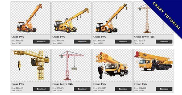 【吊車PNG】精選28款吊車PNG圖案免費下載,免費的吊車去背圖案
