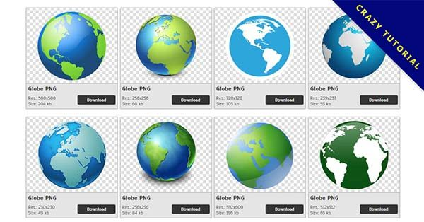 【地球PNG】精選63款地球PNG點陣圖素材包下載,免費的地球去背圖案
