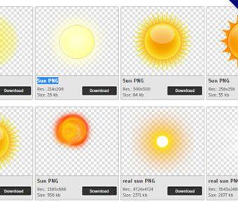 【太陽PNG】精選43款太陽PNG圖片素材下載,免費的太陽去背圖案