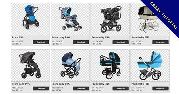 【嬰兒車PNG】精選35款嬰兒車PNG圖片素材包下載,免費的嬰兒車去背圖案