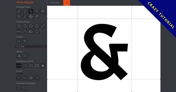 【字型設計軟體】Birdfont 字體設計工具下載,英文版,支援MAC系統+WINDOWS系統
