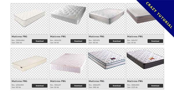 【床墊PNG】精選149款床墊PNG點陣圖素材包下載,免費的床墊去背圖案