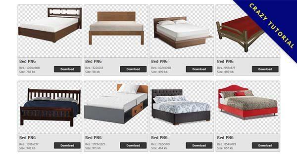 【床PNG】精選51款床PNG圖檔素材包下載,免費的床去背圖案