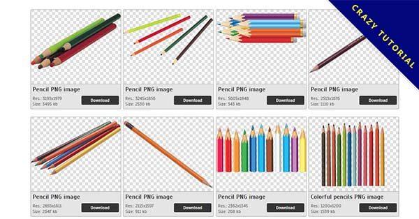 【彩色鉛筆PNG】精選18款彩色鉛筆PNG圖案免費下載,免費的彩色鉛筆去背圖片