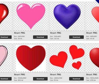 【愛心PNG】精選264款愛心PNG圖片下載,免費的愛心去背點陣圖