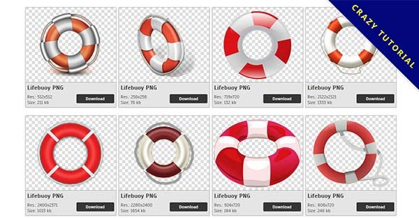 【救生圈PNG】精選46款救生圈PNG點陣圖素材包下載,免費的救生圈去背點陣圖