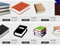 【書本PNG】精選152款書本PNG點陣圖素材包下載,免費的書本去背點陣圖