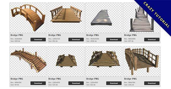 【橋PNG】精選85款橋PNG點陣圖素材包下載,免費的橋去背圖檔