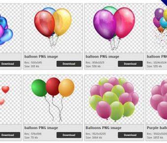 【氣球PNG】精選47款氣球PNG圖案素材免費下載,免費的氣球去背圖案